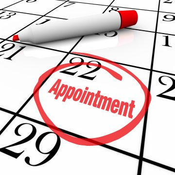 Calendar Appointment Day Circled